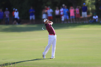 Sergio Garcia (ESP) on the 18th fairway during Round 4 of the DP World Tour Championship 2017, at Jumeirah Golf Estates, Dubai, United Arab Emirates. 19/11/2017<br /> Picture: Golffile | Thos Caffrey<br /> <br /> <br /> All photo usage must carry mandatory copyright credit     (© Golffile | Thos Caffrey)