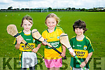 Enjoying the Hurling and Camogie Cul Camps at BALLYDUFF GAA on Tuesday were l-r  Ava Kennelly, Keeley McCabes and Sean Barn