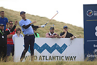 Jeff Winther (DEN) on the 8th tee during Round 2 of the Dubai Duty Free Irish Open at Ballyliffin Golf Club, Donegal on Friday 6th July 2018.<br /> Picture:  Thos Caffrey / Golffile