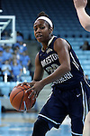 22 November 2016: Charleston Southern's Rachel Burns. The University of North Carolina Tar Heels hosted the Charleston Southern University Buccaneers at Carmichael Arena in Chapel Hill, North Carolina in a 2016-17 NCAA Women's Basketball game. UNC won the game 93-77.