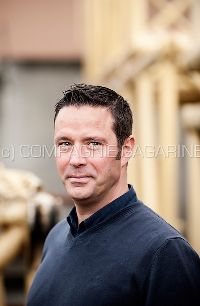 Frédéric Dufour from the Groupe Dufour construction company (Belgium, 22/10/2014)