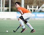 WASSENAAR - Hoofdklasse hockey heren, HGC-Bloemendaal (0-5)  Tim Swaen (Bldaal)        COPYRIGHT KOEN SUYK