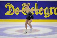 KUNSTSCHAATSEN: GRONINGEN: dec. 2010, Sportcentrum Kardingen, Open Nederlands Kampioenschap kunstrijden, Joyce den HOLLANDER, ©foto Martin de Jong
