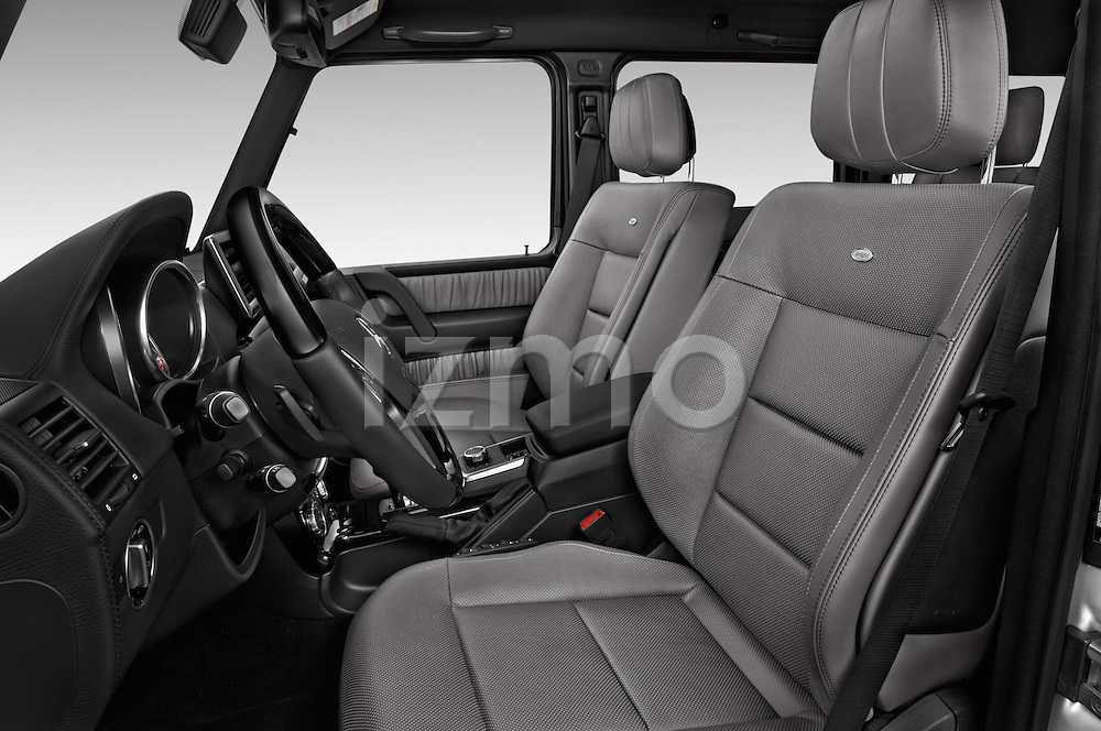 Front seat view of 2018 Mercedes Benz G-Class G550 5 Door SUV Front Seat  car photos