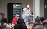 Occidental College alumni meet and celebrate at their class dinner during Alumni Reunion Weekend, June 11, 2016.<br /> (Photo by Marc Campos, Occidental College Photographer)