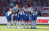 Hertha BSC Berlin schwört sich ein - 14.09.2019: 1. FSV Mainz 05 vs. Hertha BSC Berlin, 4. Spieltag Bundesliga, OPEL Arena<br /> DISCLAIMER: DFL regulations prohibit any use of photographs as image sequences and/or quasi-video.