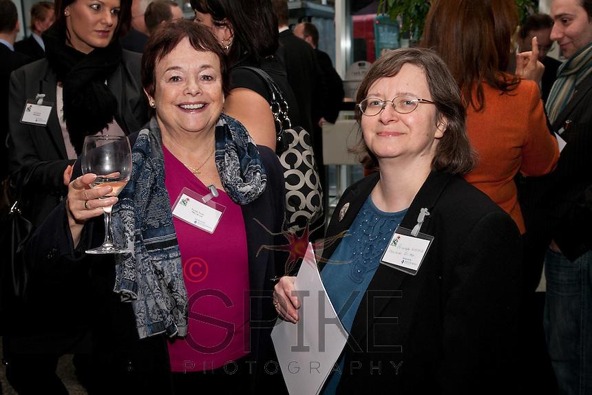 Pamela Pindar (left) of PBS UK with Penelope Wallace of Maclaren Britton