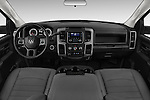Stock photo of straight dashboard view of 2018 Ram Ram-3500-Pickup Tradesman-Regular-cab 4 Door Pick-up Dashboard