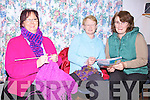 Nifty fingers - Knitting skills being taught to some of the ladies of the Foilmore/Kells Womens Group, pictured here in 'Kells Station House' l-r; Mary O'Neill-McDonnell, Bridie Wells & Eileen O'Shea(Tutor)...Ref Sinead - Story
