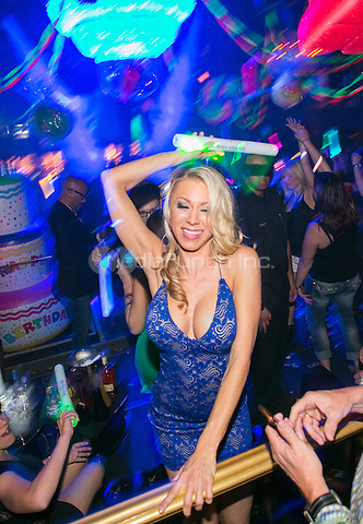 LAS VEGAS, NV - March 20: Katie Morgan celebrates her birthday at Body English at Hard Rock Hotel in Las Vegas, NV on March 20, 2015. © Erik Kabik / MediaPunch***HOUSE COVERAGE***