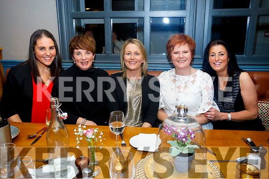 Ladies night out at the Ashe Hotel on Friday were Emma Sweeny, Susan Keating, Claire Molloy, Trish Moran, Mandy Hudson