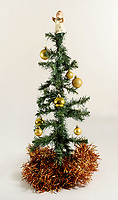 BNPS.co.uk (01202 558833)<br /> Pic: ZacharyCulpin/BNPS<br /> <br /> Pictured: A fake tree - British Christmas Tree Growers Association  say that families are turning their back on fake trees which are usually made out of plastic.<br /> <br /> Christmas tree growers are expecting a bumper festive season this year as people seek to be more environmentally friendly.<br /> <br /> The British Christmas Tree Growers Association are expecting over seven million trees to be sold in the UK in the coming months.<br /> <br /> They say that the figure has been steadily rising in recent years as families turn their back on fake trees which are usually made of plastic.<br /> <br /> On average, fake trees survive just three years before being thrown away and often put into landfill.