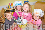 Children enjoying baking and cooking at Killorglin Family Resource Centre camps. .L-R Niall Tadgh O'Brien, Aimee Sexton, Niamh O'Sullivan and Ava Coffey.
