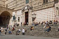 Italien, Umbrien, Duomo San Lorenzo in Perugia
