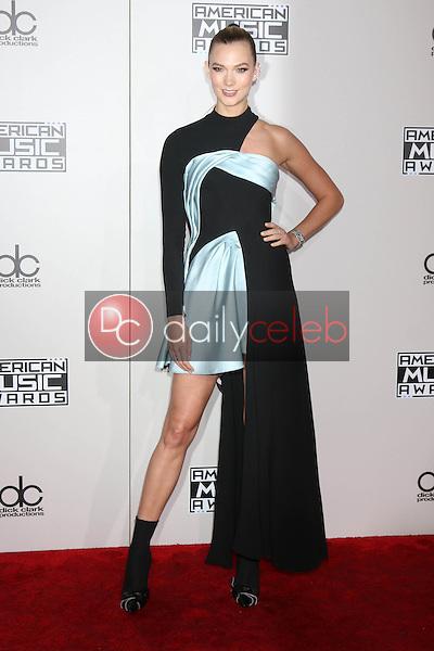 Karlie Kloss<br /> at the 2016 American Music Awards, Microsoft Theater, Los Angeles, CA 11-20-16<br /> David Edwards/DailyCeleb.com 818-249-4998