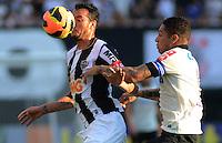 SAO PAULO SP, 14 Julho 2013 - Corinthians x Atletico MG.   Lance com Rever  durante partida valida pela setima rodada do campeonato brasileiro de 2013  no Estadio do Pacaembu em  Sao Paulo, neste domingo , 14. (FOTO: ALAN MORICI / BRAZIL PHOTO PRESS).