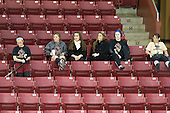 Caitlin Walsh (BC - 11), Danielle Welch (BC - 17), Amanda Movsessian (BC - 12), Alison Szlosek (BC - 8), Taylor Wasylk (BC - 9), Dru Burns (BC - 7) - The Northeastern University Huskies tied Boston University Terriers 3-3 in the 2011 Beanpot consolation game on Tuesday, February 15, 2011, at Conte Forum in Chestnut Hill, Massachusetts.