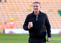 Bolton Wanderers manager Phil Parkinson inspects the pitch before kick off<br /> <br /> Photographer David Shipman/CameraSport<br /> <br /> The EFL Sky Bet Championship - Norwich City v Bolton Wanderers - Saturday 8th December 2018 - Carrow Road - Norwich<br /> <br /> World Copyright &copy; 2018 CameraSport. All rights reserved. 43 Linden Ave. Countesthorpe. Leicester. England. LE8 5PG - Tel: +44 (0) 116 277 4147 - admin@camerasport.com - www.camerasport.com