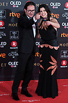 Carlos Santos and Laia Marull attends red carpet of Goya Cinema Awards 2018 at Madrid Marriott Auditorium in Madrid , Spain. February 03, 2018. (ALTERPHOTOS/Borja B.Hojas)