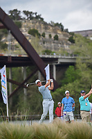 Paul Casey (GBR) watches his tee shot on 13 during day 3 of the WGC Dell Match Play, at the Austin Country Club, Austin, Texas, USA. 3/29/2019.<br /> Picture: Golffile | Ken Murray<br /> <br /> <br /> All photo usage must carry mandatory copyright credit (© Golffile | Ken Murray)