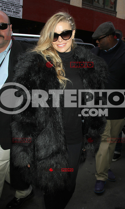 NEW YORK, NY - DECEMBER 6: Carmen Electra at The Wendy Williams Show in New York to promote her new single I Like It Loud. December 6, 2012. Credit: RW/MediaPunch Inc. /NortePhoto©