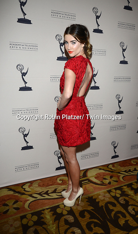 Jacqueline MacInnes Wood attends the Academy Of Television Arts & Science Daytime Programming  Peer Group Celebration for the 40th Annual Daytime Emmy Awards Nominees party on June 13, 2013 at the Montage Beverly Hills in Beverly Hills, California.
