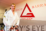 Francis Galvin achieved black belt in Brazilian Jiu Jitsu in London Pictured at the Gracie Barra Gym on Friday