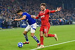 11.12.2018, VELTINS Arena, Gelsenkirchen, Deutschland, GER, UEFA Champions League, Gruppenphase, Gruppe D, FC Schalke 04 vs. FC Lokomotiv Moskva / Moskau<br /> <br /> DFL REGULATIONS PROHIBIT ANY USE OF PHOTOGRAPHS AS IMAGE SEQUENCES AND/OR QUASI-VIDEO.<br /> <br /> im Bild Zweikampf zwischen Alessandro Schöpf / Schoepf (#28 Schalke) und Maciej Rybus (#31 Moskau)<br /> <br /> Foto © nordphoto / Kurth