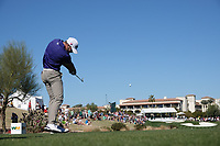 Kevin Tway (USA) In action during the third round of the Waste Management Phoenix Open, TPC Scottsdale, Phoenix, USA. 31/01/2020<br /> Picture: Golffile | Phil INGLIS<br /> <br /> <br /> All photo usage must carry mandatory copyright credit (© Golffile | Phil Inglis)