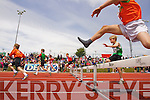 Boys u-10 60m Hurdles at the Kerry community games athlethics finals at an Riocht, Castleisland on Sunday.