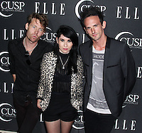 HOLLYWOOD, LOS ANGELES, CA, USA - APRIL 22: Deluka at the 5th Annual ELLE Women In Music Concert Celebration presented by CUSP by Neiman Marcus held at Avalon on April 22, 2014 in Hollywood, Los Angeles, California, United States. (Photo by Xavier Collin/Celebrity Monitor)