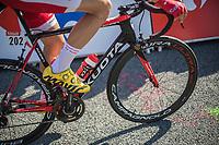 pre race<br /> <br /> Stage 1: Noirmoutier-en-l'Île > Fontenay-le-Comte (189km)<br /> <br /> Le Grand Départ 2018<br /> 105th Tour de France 2018<br /> ©kramon