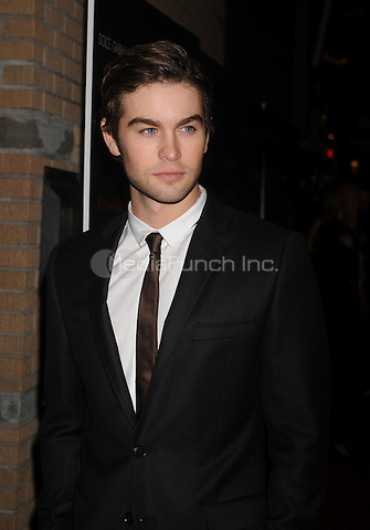 "Chace Crawford at the Screening of ""Filth and Wisdom"" hosted by The Cinema Society and Dolce and Gabbana. Landmark Sunshine Theatre, New York City. October 13, 2008.. Credit: Dennis Van Tine/MediaPunch"