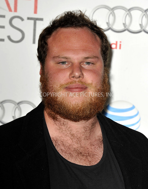 WWW.ACEPIXS.COM....November 5 2012, LA....Jordan Dodson arriving at the 2012 AFI FEST 'Rust And Bone' Gala Premiere at Grauman's Chinese Theatre on November 5, 2012 in Hollywood, California.....By Line: Peter West/ACE Pictures......ACE Pictures, Inc...tel: 646 769 0430..Email: info@acepixs.com..www.acepixs.com