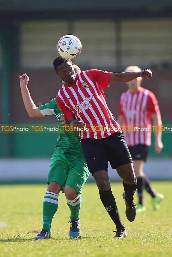 Abs Seymour of Hornchurch during Waltham Abbey vs AFC Hornchurch, Ryman League Division 1 North Football at Capershotts on 8th April 2017