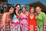LOOKIN' GOOD: Showing their style on Ladies Day at the Listowel Races on Sunday afternoon l-r: Martina Wallace (Glin), Catriona, Una and Mary Buckley, (Listowel) and Sharon O'Donoghue (Ballyseedy).