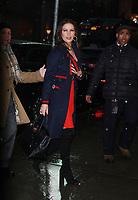 JAN 17 Catherine Zeta-Jones Seen In NYC