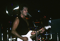 Gary Moore performs at The Caberet Metro in Chicago, Illinois. Aug.16,1987  <br /> CAP/MPI/GA<br /> ©GA/MPI/Capital Pictures