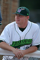 Jamestown Jammers Donald Czyz during a NY-Penn League game at Russell Diethrick Park on July 1, 2006 in Jamestown, New York.  (Mike Janes/Four Seam Images)