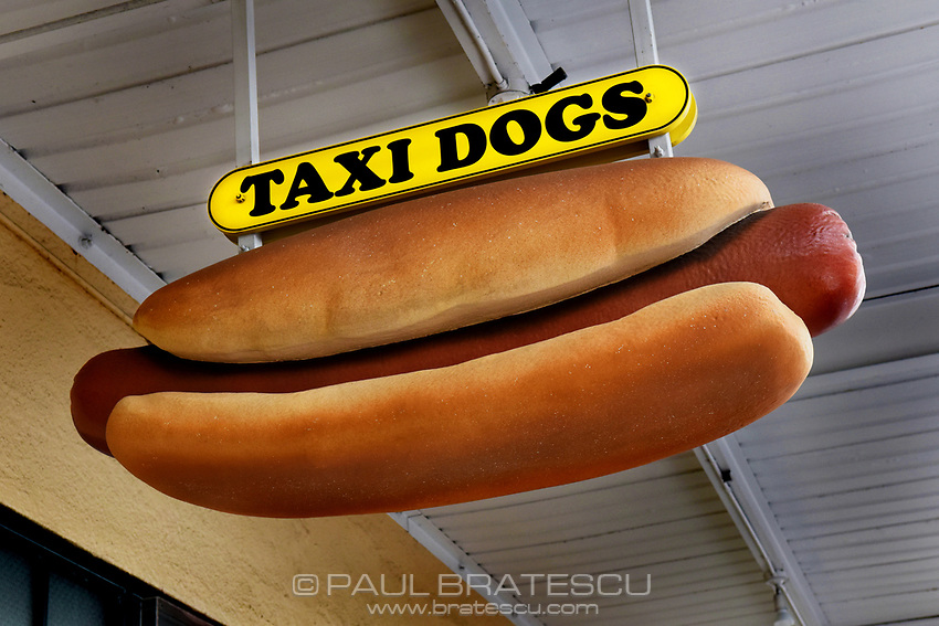 Taxi Dog sign, Pike Place Market