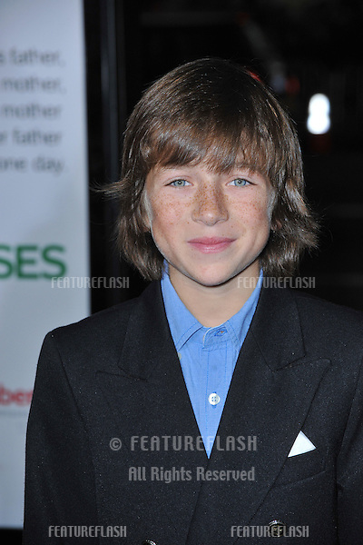 "Skyler Gisondo at the world premiere of ""Four Christmases"" at Grauman's Chinese Theatre, Hollywood..November 20, 2008  Los Angeles, CA.Picture: Paul Smith / Featureflash"