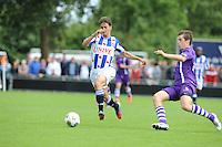 VOETBAL: DE KNIPE: Read Swart-complex, 21-07-2012, Oefenwedstrijd SC Heerenveen - K. Beerschot AC, Filip Djuricic (#9), Dries Wuytens (#3), ©foto Martin de Jong