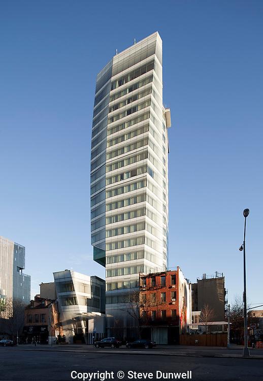 25 Cooper Square, New York, NY  Hotel,  Carlos Zapata = architect