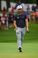 Abraham Ancer (MEX) looks over the green on 1 during Rd4 of the 2019 BMW Championship, Medinah Golf Club, Chicago, Illinois, USA. 8/18/2019.<br /> Picture Ken Murray / Golffile.ie<br /> <br /> All photo usage must carry mandatory copyright credit (© Golffile | Ken Murray)