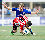 Sunderland plays Leicester City during the HKFC Citibank International Soccer Sevens at the Hong Kong Football Club on 26 May 2013 in Hong Kong, China. Photo by Victor Fraile / The Power of Sport Images