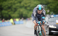 David Lopez (ESP) in the last stretch<br /> <br /> Tour of Britain<br /> stage 3: ITT Knowsley Safari Park (16.1km)<br /> <br /> Tour of Britain<br /> stage 3: ITT Knowsley Safari Park (16.1km)
