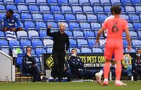 7th July 2020; Madejski Stadium, Reading, Berkshire, England; English Championship Football, Reading versus Huddersfield; Mark Bowen Manager of Reading offers advice to his players