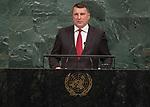 72 General Debate &ndash; 20 September <br /> <br /> His Excellency Raimonds Vējonis, President of the Republic of Latvia