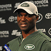 Todd Bowles, New York Jets Head Coach, speaks with the media after a day of OTAs held at the Atlantic Health Jets Training Center in Florham Park, NJ on Tuesday, May 29, 2018.