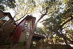 """Richard and Kay Johnson's """"treehouse"""""""